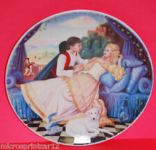 """""""Sleeping Beauty"""" 1985 Quelliers Morals of Perault Series French Collector Plate"""