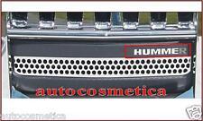 PARAURTI PARAURTO ANTERIORE HUMMER H3 LETTERE CROMO  IN ACCIAIO CROMATE