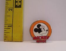 Walt Disney ORANGE BORDER MICKEY MOUSE EXPRESSIONS FACE TRADING PIN OH MY!