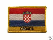 Croatia Embroidered Flag patch -Iron on or Sew