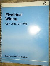 1978 VOLKSWAGEN GOLF JETTA GTI ELECTRICAL WIRING DIAGRAMS FACTORY MANUAL SERVICE