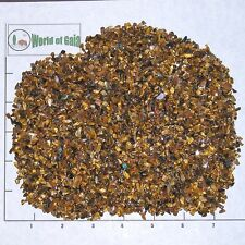 TIGEREYE GOLDEN 3-5mm, tumbled, 1/2 lb xxmini+ bulk Tiger Eye Vitreous