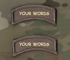 KILLER ELITE PROFESSIONAL WARRIORS YOUR WORDS: Custom-Embroidered Tab X 2  FF