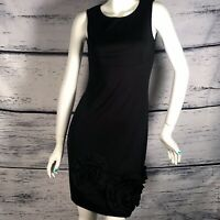 La  el-Couture Black Dress Aline Little Black knee-length dress size Small