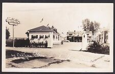 Circa 1950 Real Photo RPPC Postcard Le Chateau Bleu TROIS RIVIERES  Quebec