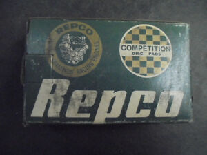 race rally competition disc pads Austin Healey Sprite MG Midget Triumph TR7