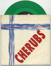 """CHERUBS Carjack Fairy/Daisy Poser 7"""" 1993 green vinyl EX+ in VG++ wallpaper ps"""