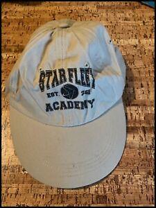 Star Trek Star Fleet Academy Cap / Hat With Logo On New One Size Gift Sci-Fi L/K