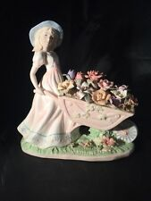 More details for line illustration helping in the garden the porcelain collection figurine ltd ed