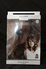 BALMAIN Paris HAIR EXTENSIONS Warm Caramel RED BROWN Complete New n Bag 25cm/10""