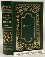 1859 Classics of Science ON THE ORIGIN OF SPECIES Gryphon Edition LEATHER RARE!!