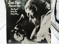 ZOOT SIMS Soprano Sax LP PABLO RECORDS 2310 770 1976 JAZZ Demo VG++ c VG+