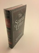 The Scarlet Letter by Nathaniel Hawthorne Bonded Leather New Hardcover Sealed