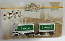 Grell oh 1/87 truck trailer truck trailer ifa w50 l sternquell bier beer box