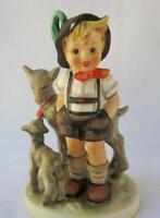 M I Hummel Goebel LITTLE GOAT HERDER Porcelain Figurine Mold # 200 Germany