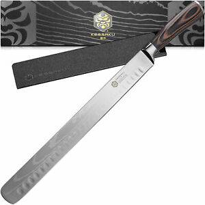 Kessaku 12-Inch Carving Knife - Samurai Series - High Carbon 7Cr17MoV Steel
