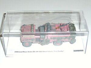 RARE Voiture TSM LAND ROVER Serie 109 SAS Pink Panther 1/43 Model Patrol Vehicle