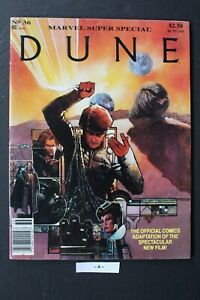 Marvel Super Special #36 DUNE Movie Adaption Herbert MAG 1984 TV Reboot Film FN