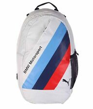 New BMW Motorsport Puma Backpack White NWT Factory Sealed