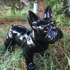 französische bulldogge 35 cm x 45 cm groß Designer Deko Figur, DEKO