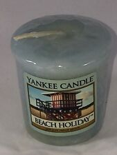 Yankee Candle Beach Holiday 1.75 Oz Votive Scented Candle New Gift