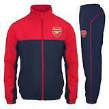 Arsenal FC Official Mens Tracksuit - Red/Blue-Small