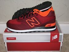 New Balance ML574ALN Woven Red/Orange Mens Size 9.5 DS NEW! 576 577 580 998 1500