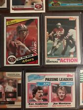 17 Card Joe Montana Lot With 2nd Year Topps BV++