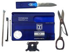 Victorinox Swisscard Lite Pocket Tool Israel Flag David Shield Candelabrum Print