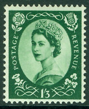 SG530, 1s 3d green, NH MINT. WMK TUDOR CROWN.