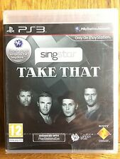 SingStar Take That  (small tears in cellophane) - PS3 UK Release New!