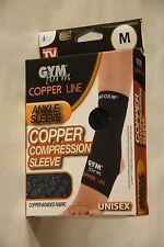 Gymform Copper Line Ankle Sleeve, size S/M/L