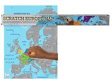Rubbel Weltkarte EUROPA-KARTE Scratch Off World Map Poster Landkarte zum Rubbeln