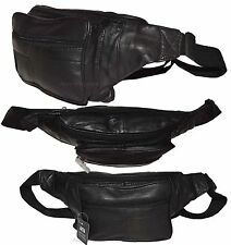 "New Leather waist pouch. waist bag, leather bag, Fanny pack 47"" adjustable band"