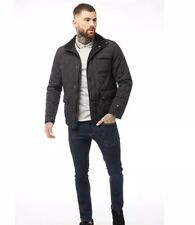 FIRETRAP Quilted Black Jacket, Size M