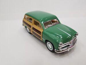 1949 Ford Woody Wagon green kinsmart TOY model 1/40 scale diecast metal Car