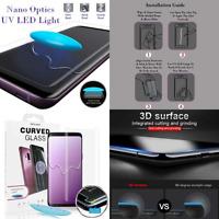 UV Nano Optics 3D Curved For Samsung Galaxy S10 Plus Tempered Glass Protector yu