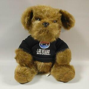 """Las Vegas Motor Speedway Stuffed 9"""" Dog Plush Toy Collectible"""