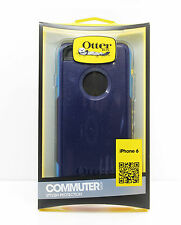 OtterBox Commuter Hard Cover Case for iPhone 6 iPhone 6s Aqua Blue/Black/White