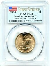 2019-P Innovation Pennsylvania Dollar, PCGS MS-66 Pos A, First Strike, Flashy!