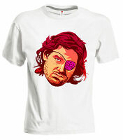 "T-shirt ""Snake Plissken"" 80's Vintage Escape New York BACK FUTURE Goonies 3S"