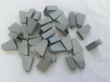 20X LEGO ROOF LIGHT//OLD GREY SLOPE 45/% 1x2 3040 CITY SPACE STAR WARS