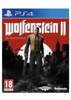 Wolfenstein 2 II The New Colossus PS4 MINT - 1st Class FAST Delivery