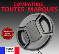 Bouchon Capuchon Cache Objectif 55 mm pour Canon Nikon Sigma Pentax Tamron ...