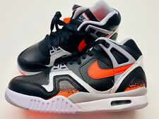 Nike Air Tech Challenge 2 Black Lava US 7 - QS - Doubleboxed Agassi Tennis