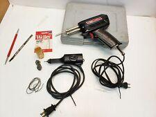 Lot Weller 8200 140/100 Watts Solder w/extras Tip & Dremel Electric Engraver