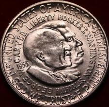 Uncirculated 1953-S Washington Carver Silver Comm Half
