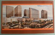 Dallas Texas Postcard Galleria Shopping Mall Complex Artist's Rendering TX PC