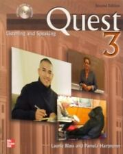 Quest Listening and Speaking, Level 3, 2nd Edition, Laurie Blass, Pamela Hartman