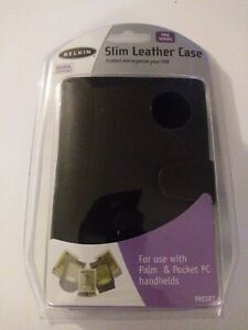 Belkin Pro Series Slim Leather Case For PDA - New & Sealed